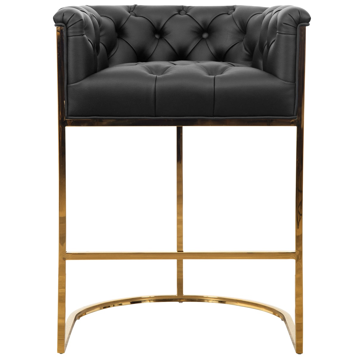 Corfu Bar and Counter Stool in Faux Leather and Cowhide - ModShop1.com