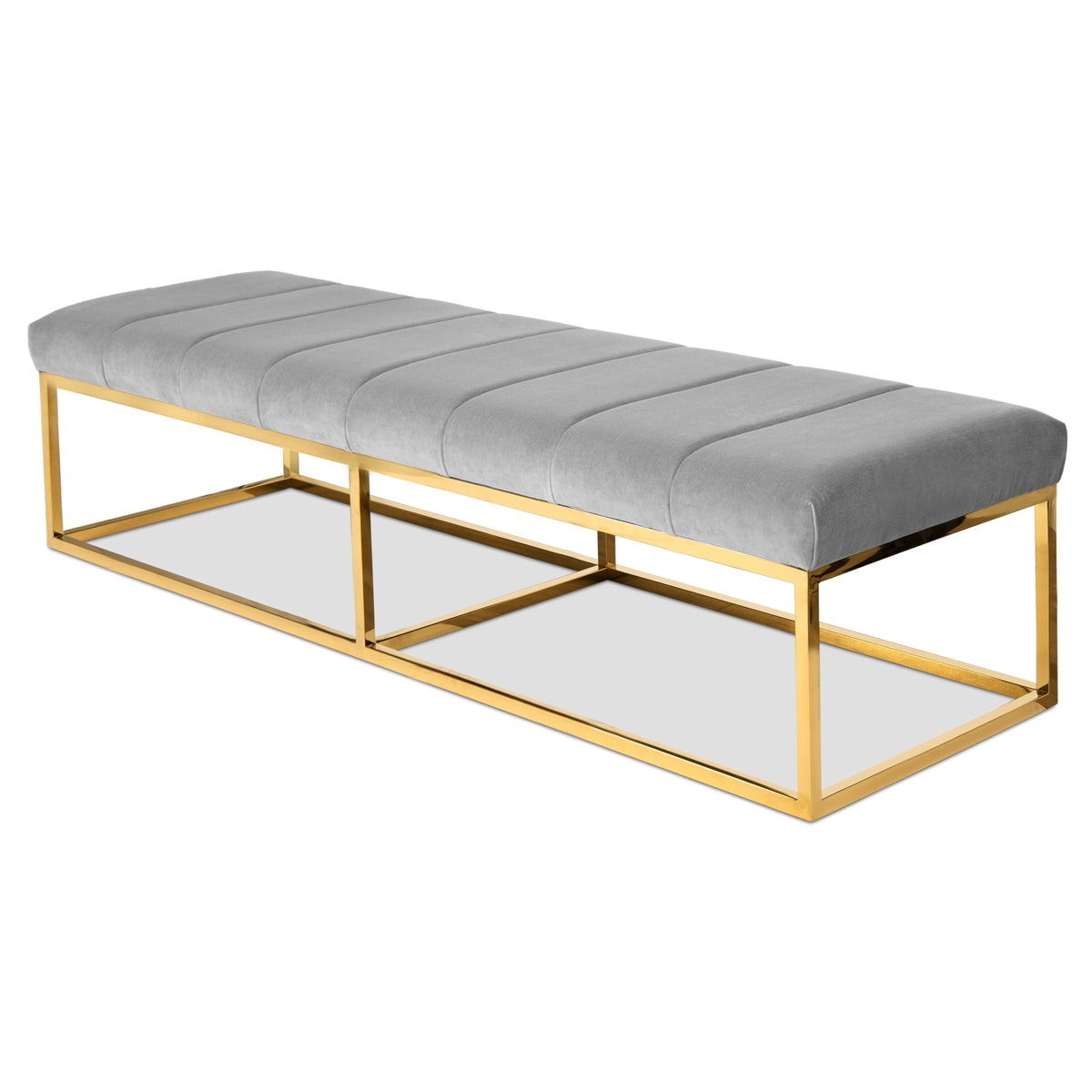 Excellent Corfu Bench Backless Bench With Cushioned Seat Modshop Ocoug Best Dining Table And Chair Ideas Images Ocougorg