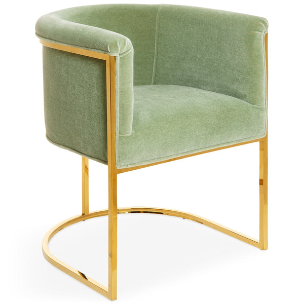 Corfu Dining Chair in Mohair - ModShop1.com