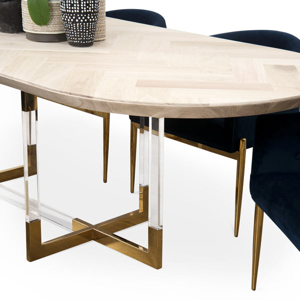 Corfu Racetrack Dining Table - ModShop1.com