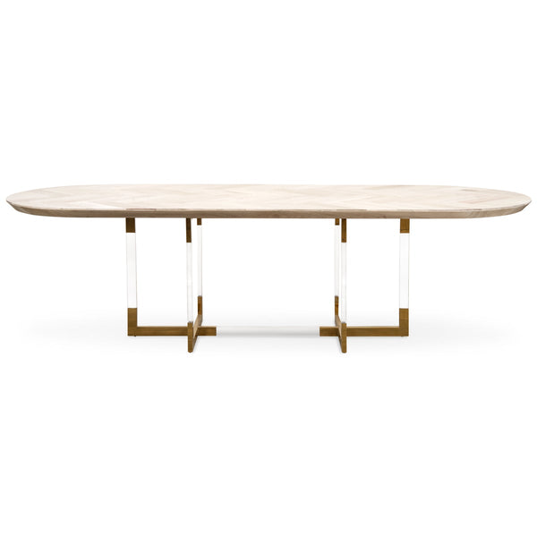 Corfu Racetrack Dining Table