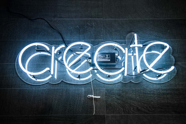 """Create"" Neon Sign"