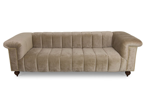 Dean Martin Sofa in Cream Velvet