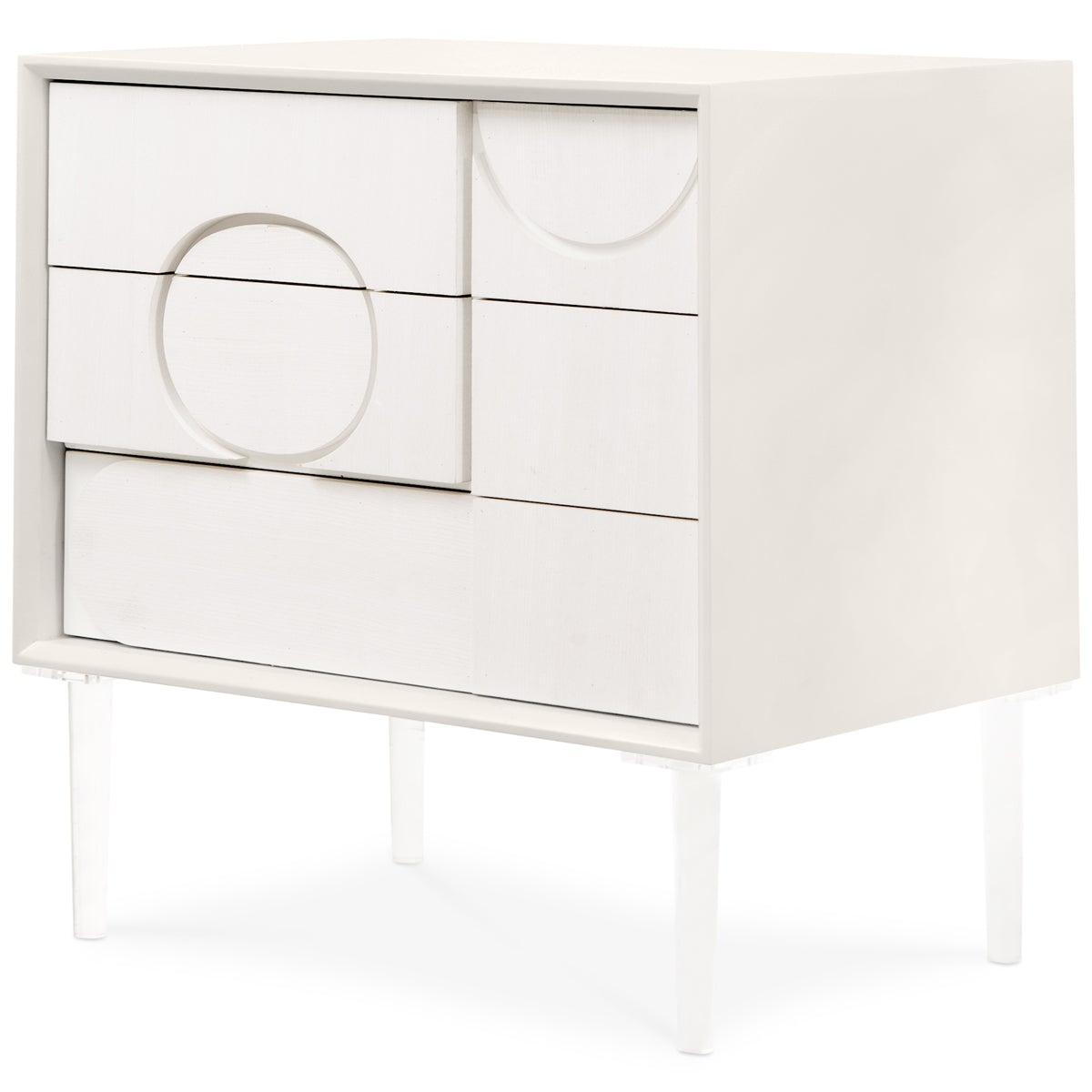 Delano 3 Drawer Side Table - ModShop1.com