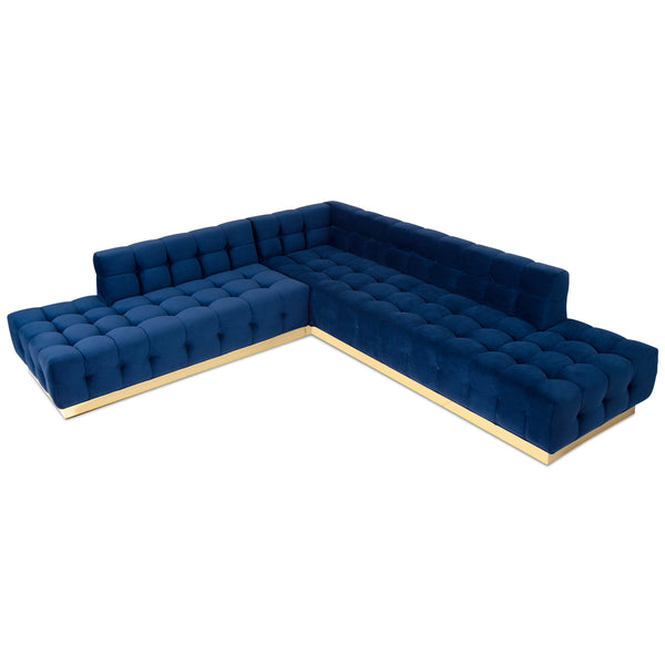 Delano Double Chaise Sectional - ModShop1.com