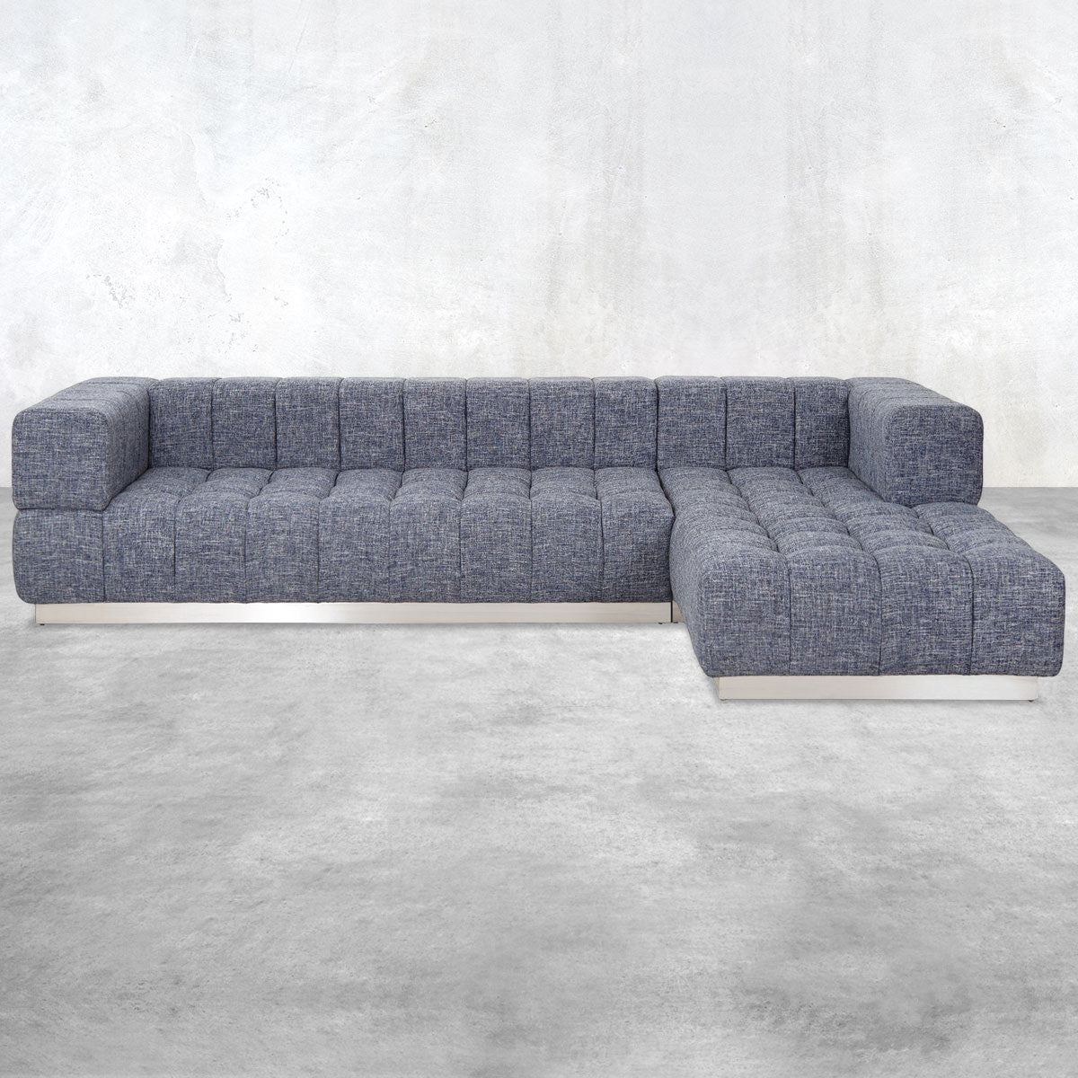 Delano Sectional in Linen