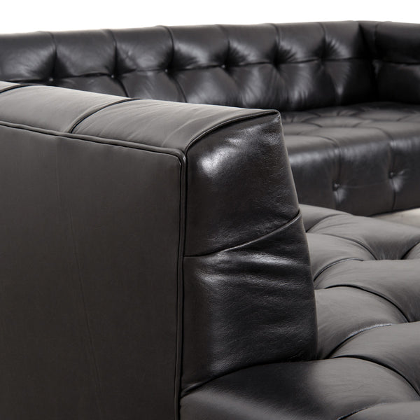 Delano Sectional in Leather - ModShop1.com