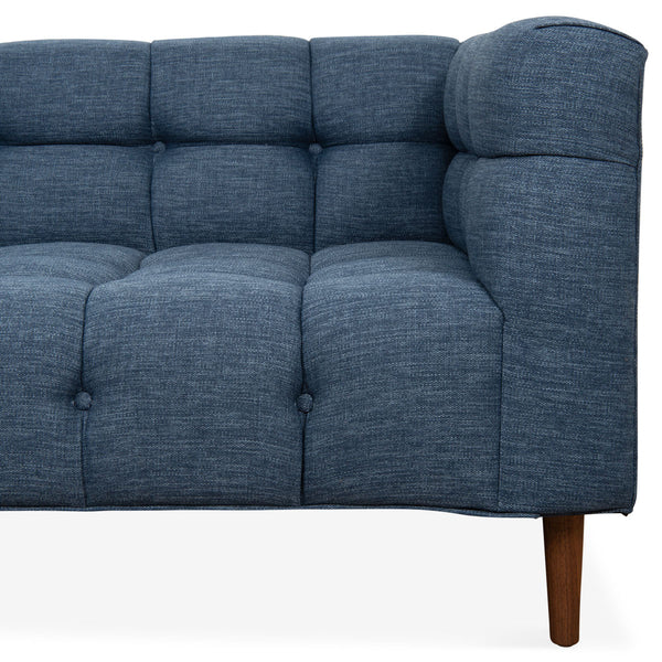 Delano Sectional in Key Largo Denim - ModShop1.com