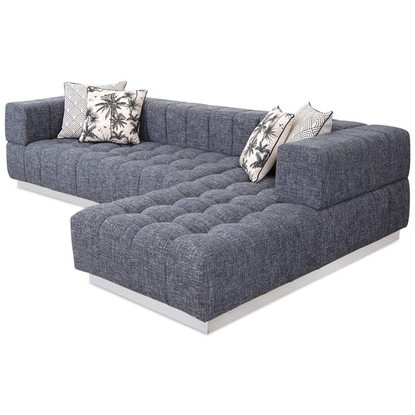 Delano Sectional in Linen - ModShop1.com