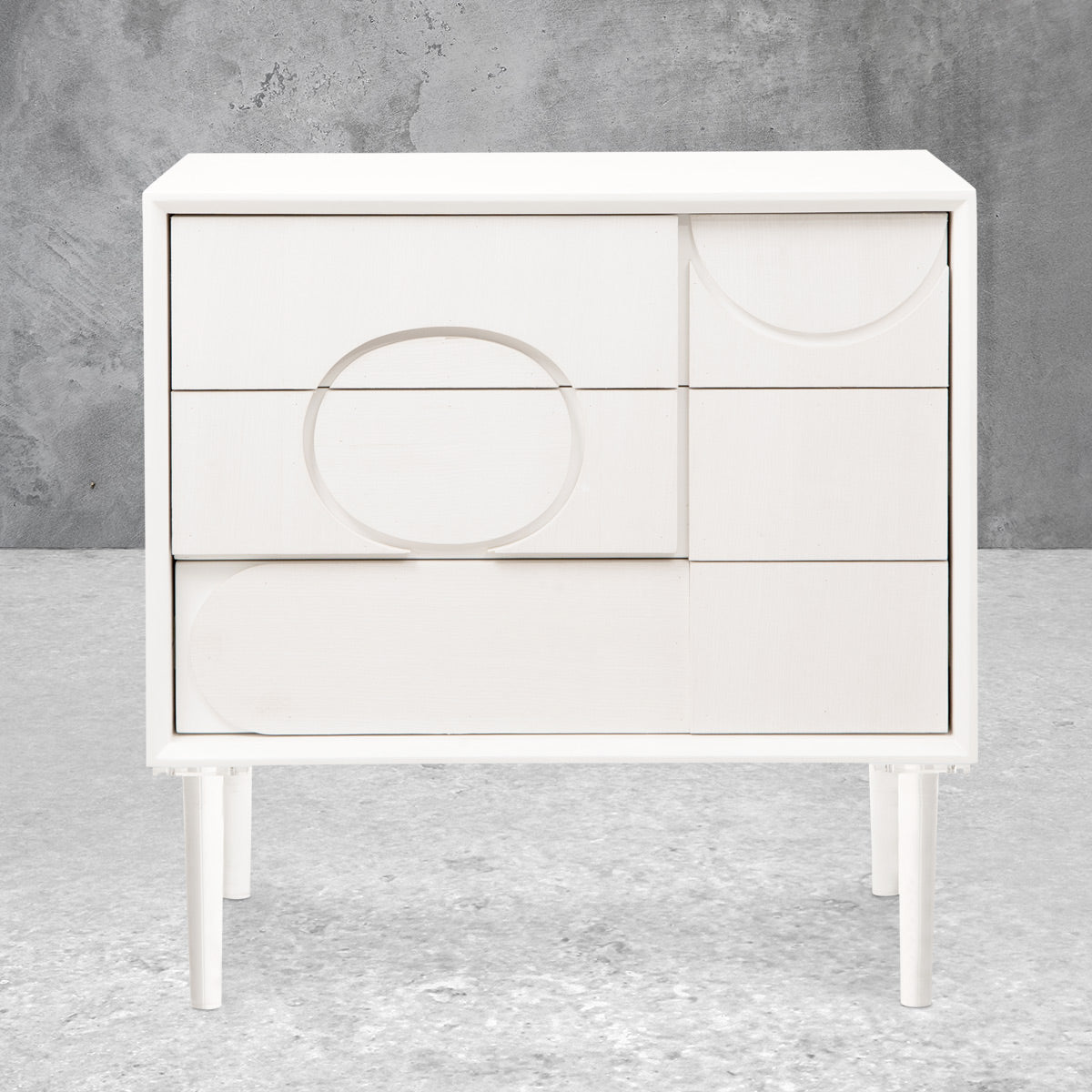 Delano 3 Drawer Side Table