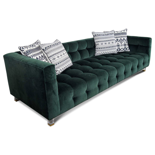 Delano Sofa in Hunter Velvet - ModShop1.com