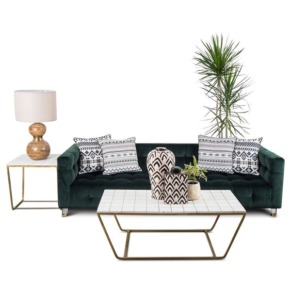 Delano Sofa in Hunter Velvet