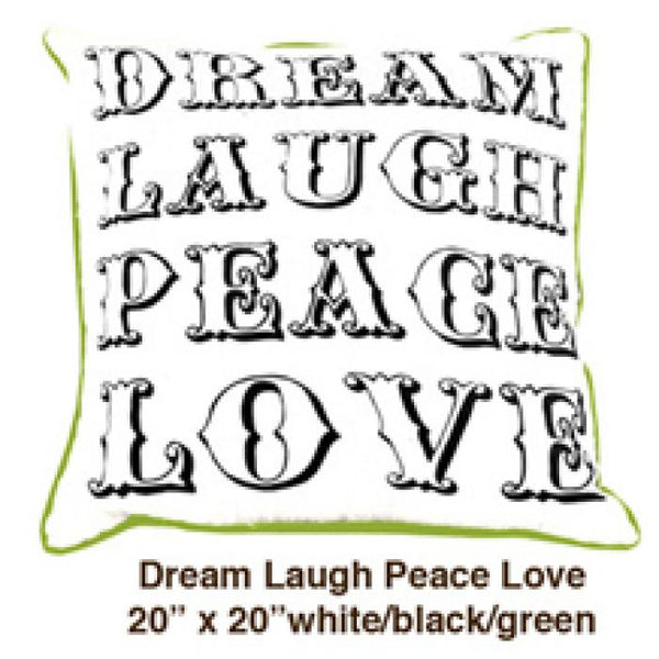 Dream Laugh Peace Love Yellow