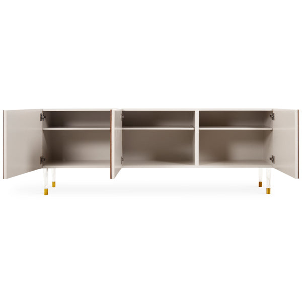 Eden Rock 3 Door Credenza in Oiled Walnut - ModShop1.com