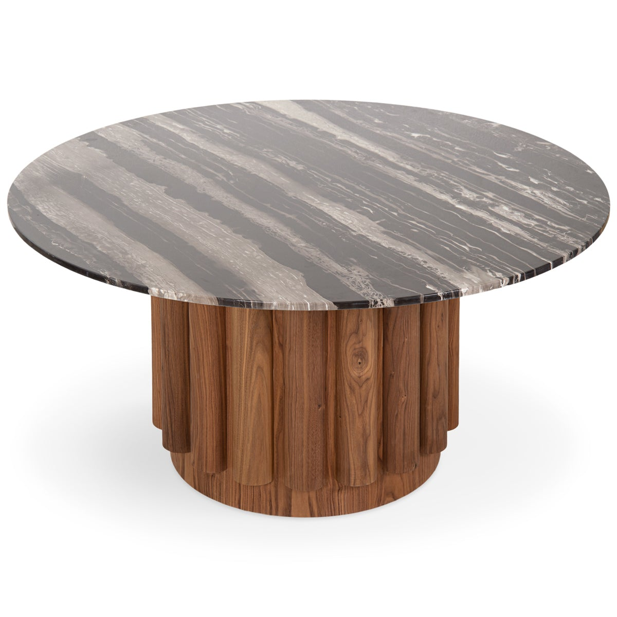 Eden Rock Dining Table in Walnut - ModShop1.com