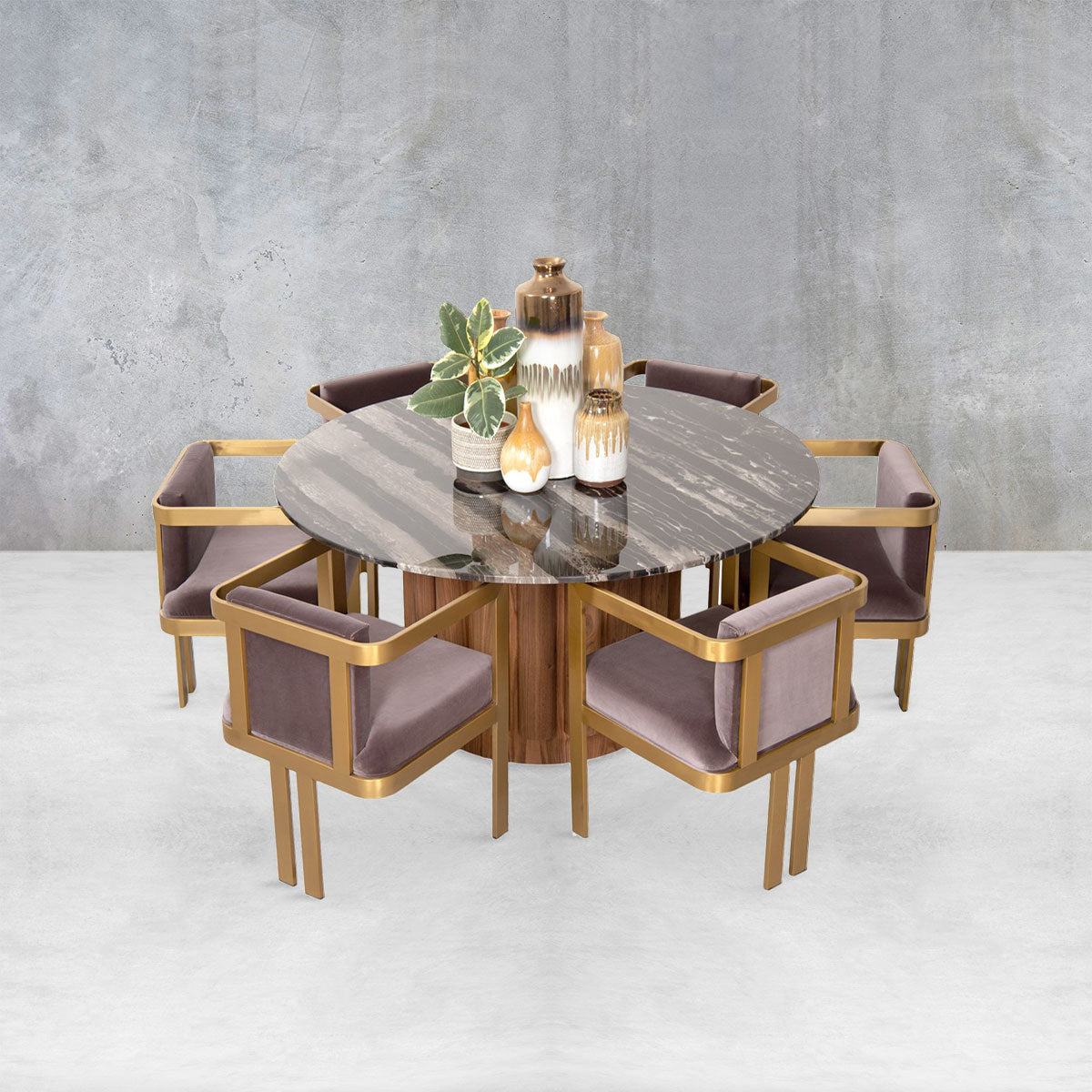 Eden Rock Dining Table in Walnut