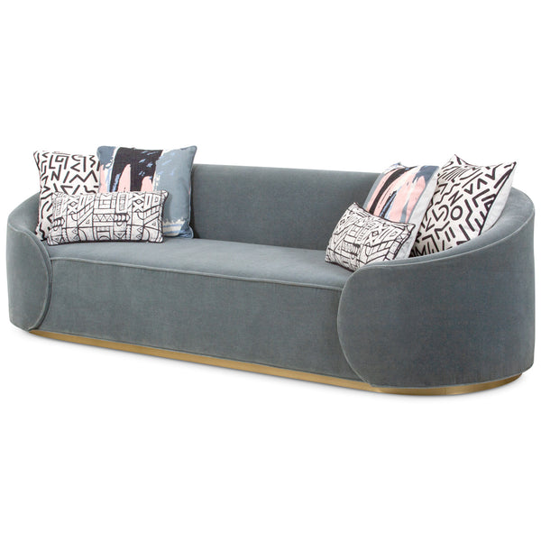 Eden Rock Sofa in Mohair - ModShop1.com