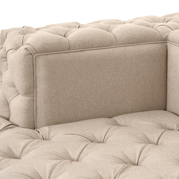 Fat Bastard Sofa/Day Bed in Linen - ModShop1.com
