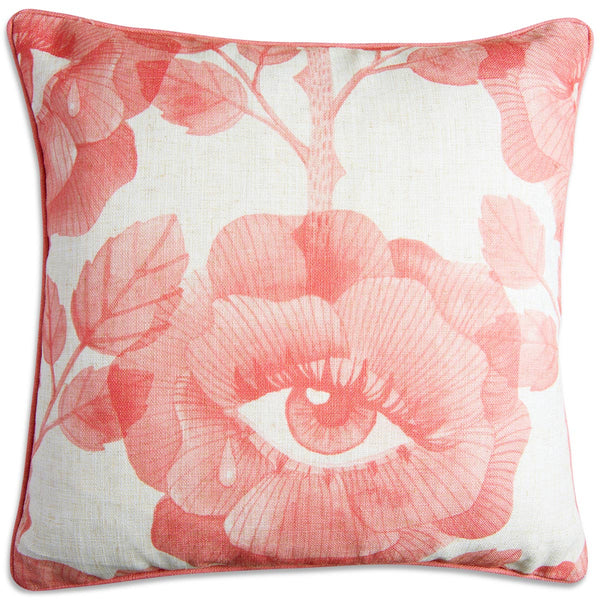Floral Eyes Pillow in Blush