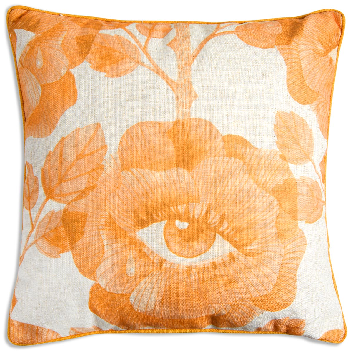 Floral Eyes Pillow in Mustard - ModShop1.com