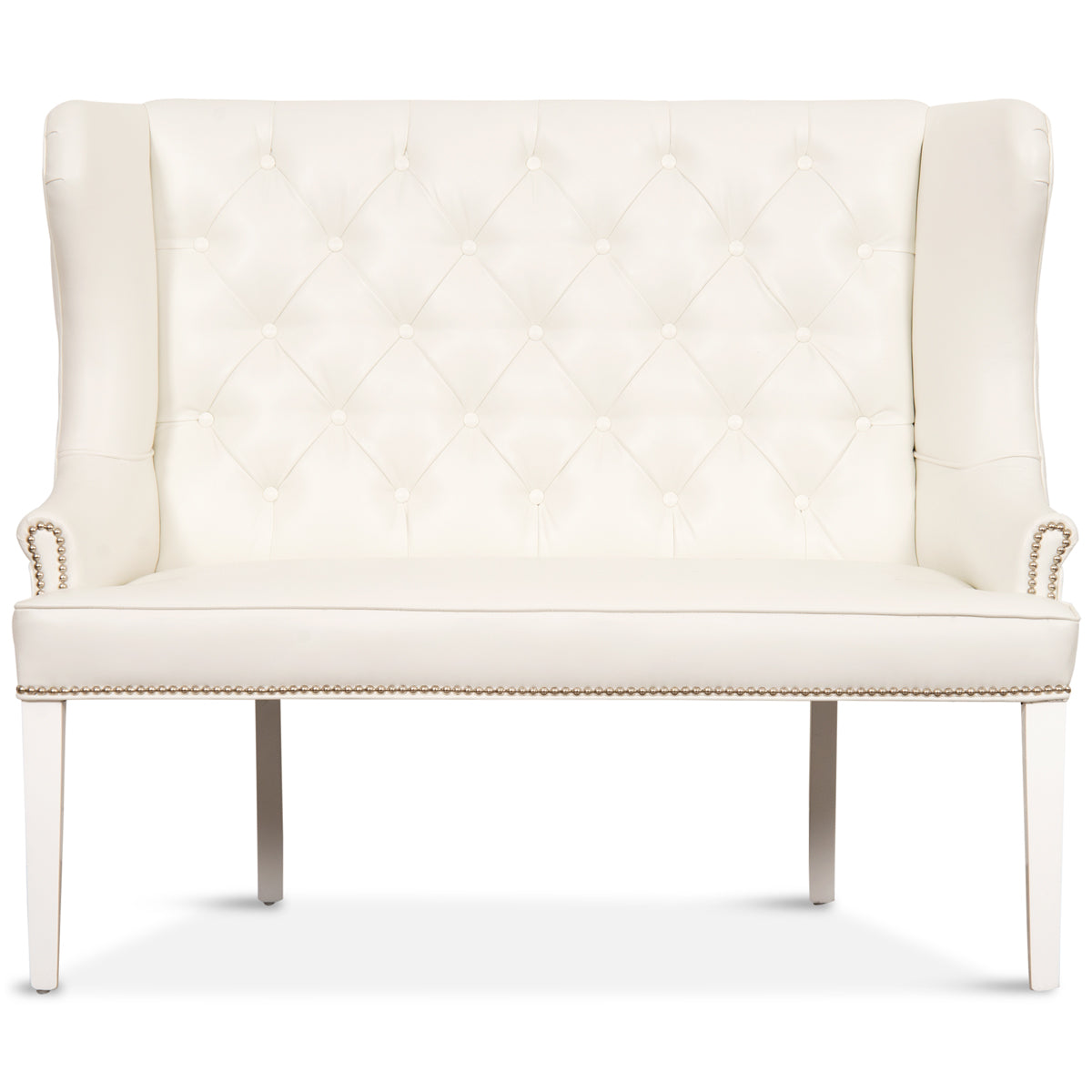 Ordinaire Florence Dining Loveseat In Faux Leather