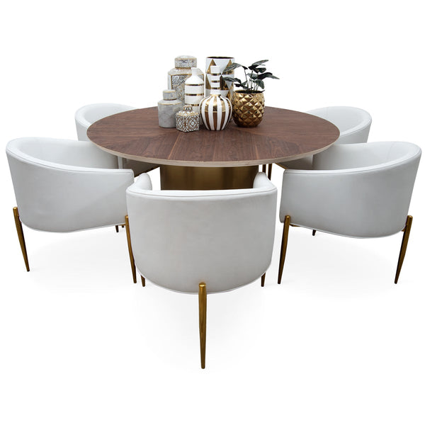 Florence Round Dining Table - ModShop1.com