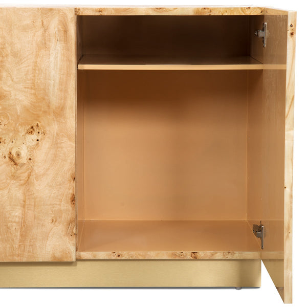 Goldfinger 4 Door Tall Credenza with Toe Kick - ModShop1.com