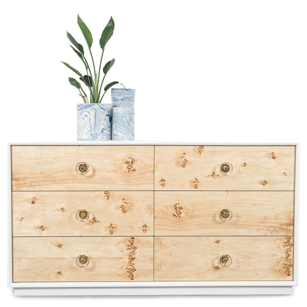 Goldfinger Dresser in Matte White. Buy Modern Dressers with Stylish Storages   ModShop