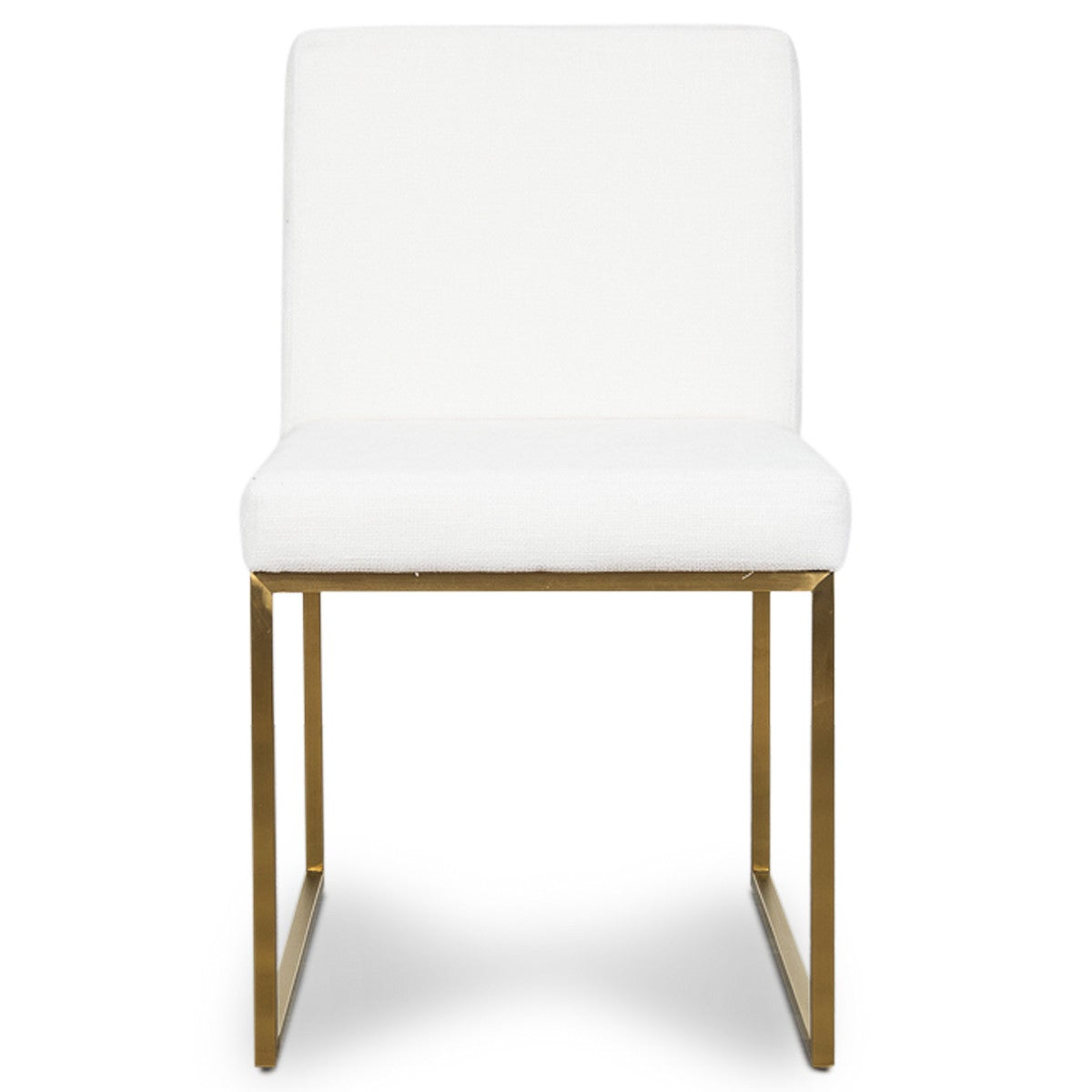 1147c08fa4c ... Goldfinger Dining Chair in White Linen - ModShop1.com ...