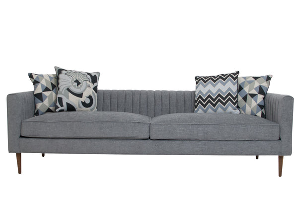Manhattan Sofa in Grey Linen