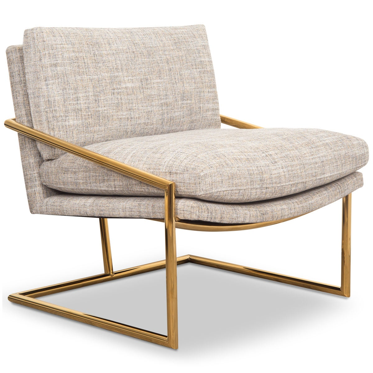 Hampton Chair in Linen - ModShop1.com