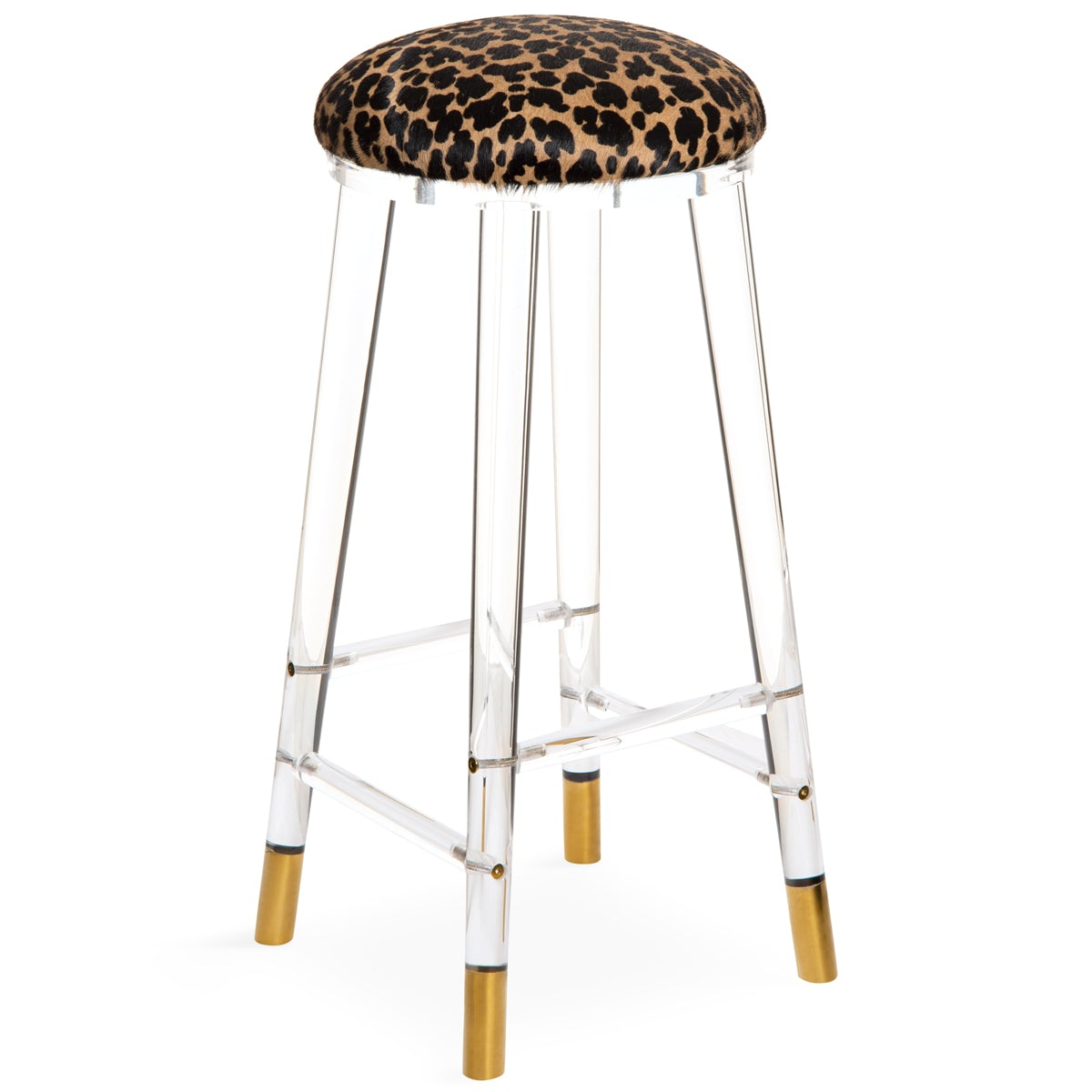 Helsinki Bar Stool in Cowhide - ModShop1.com