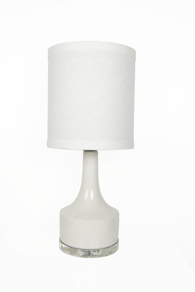 Holmby Table Lamp in White