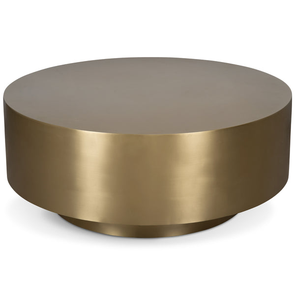 Ibiza All Brushed Brass Coffee Table