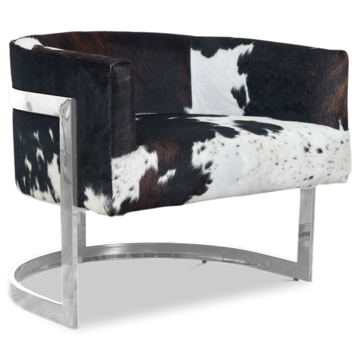 Ibiza Arm Chair in Cowhide - ModShop1.com