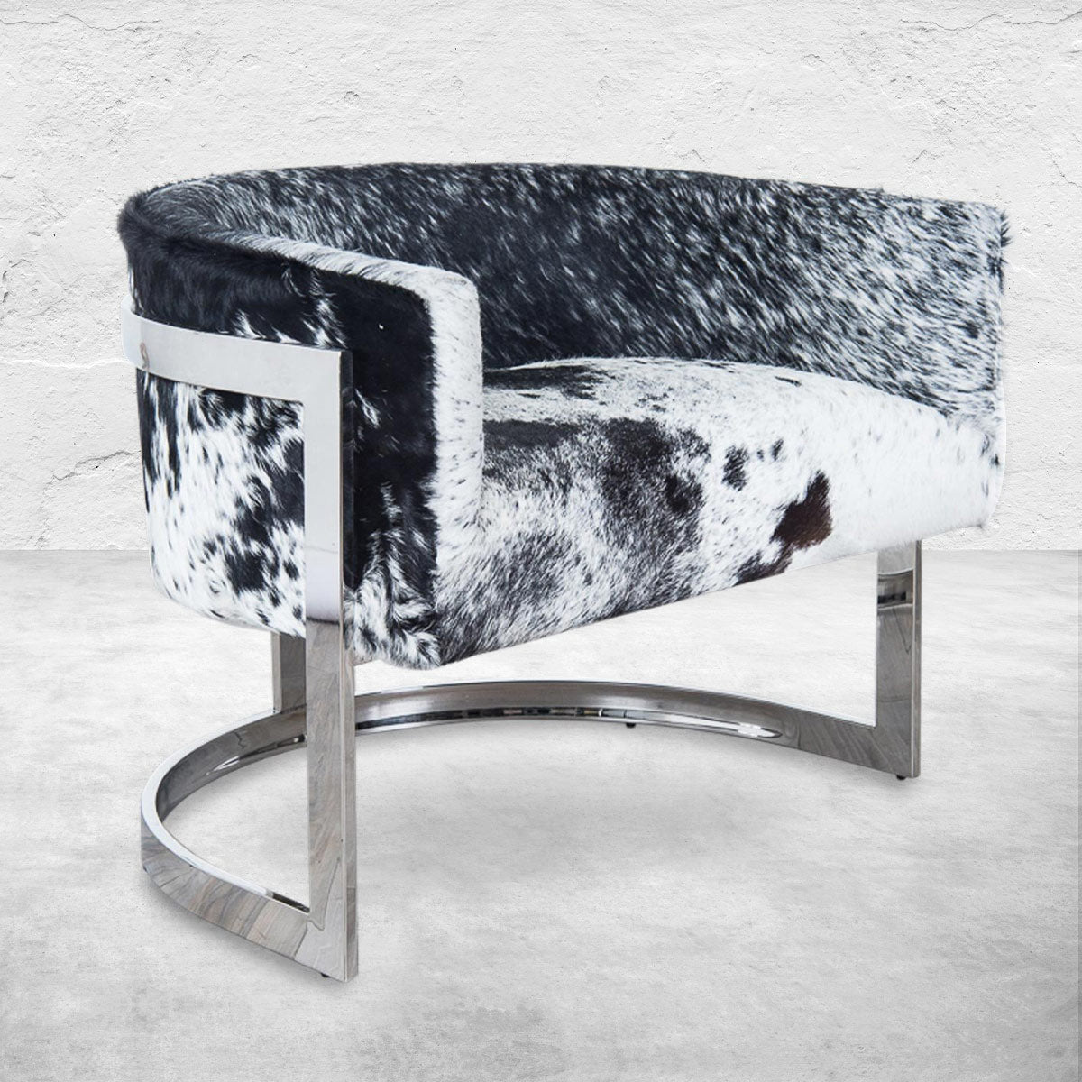 Ibiza Arm Chair in Cowhide
