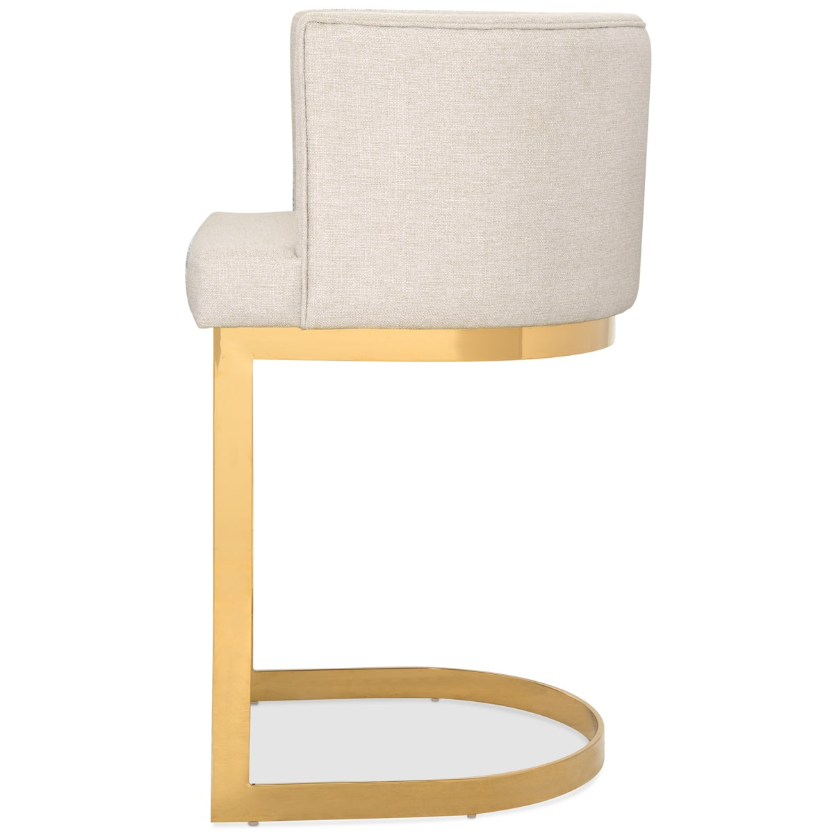 Ibiza Bar and Counter Stool in Linen - ModShop1.com