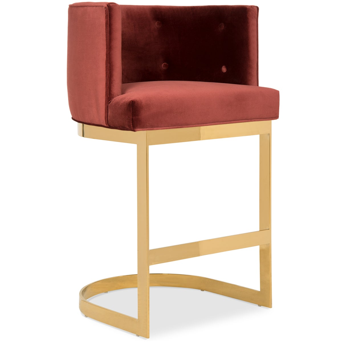 Ibiza Bar And Counter Stool Velvet Counter Stool Modshop