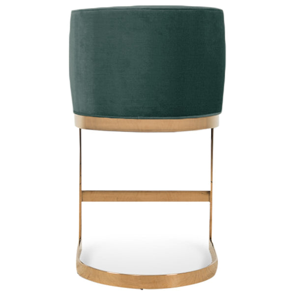 Ibiza Bar and Counter Stool in Velvet
