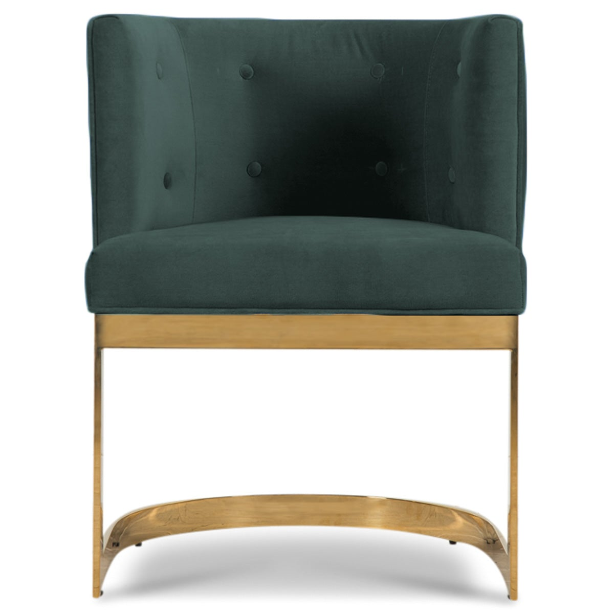 Ibiza Dining Chair In Velvet
