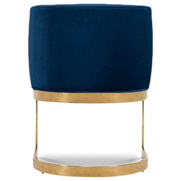 Ibiza Dining Chair in Velvet - ModShop1.com