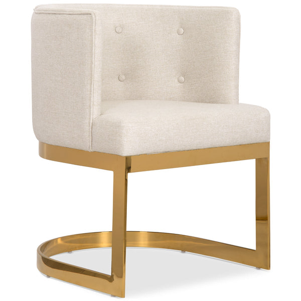 Ibiza Dining Chair In Linen
