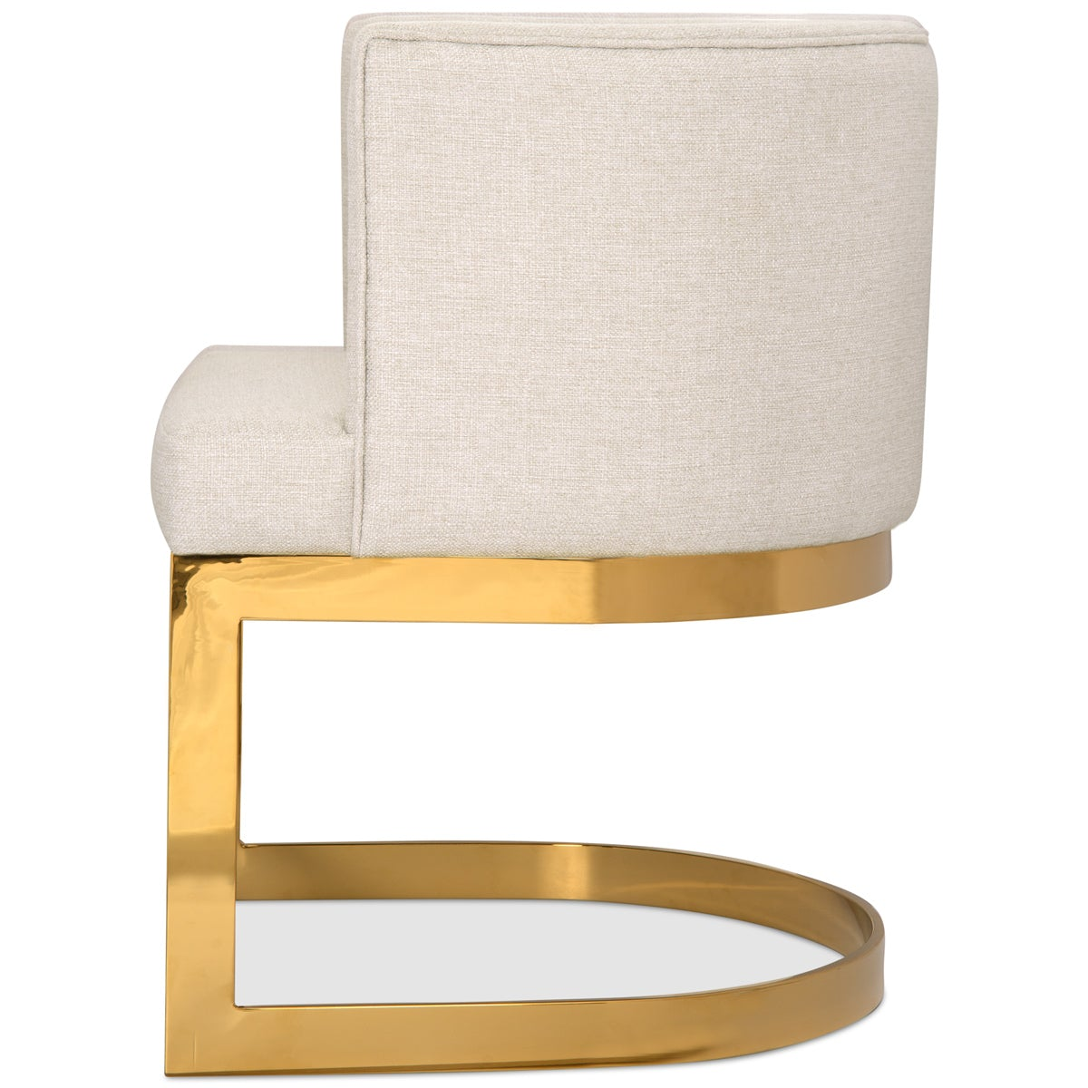 Ibiza Dining Chair in Linen - ModShop1.com