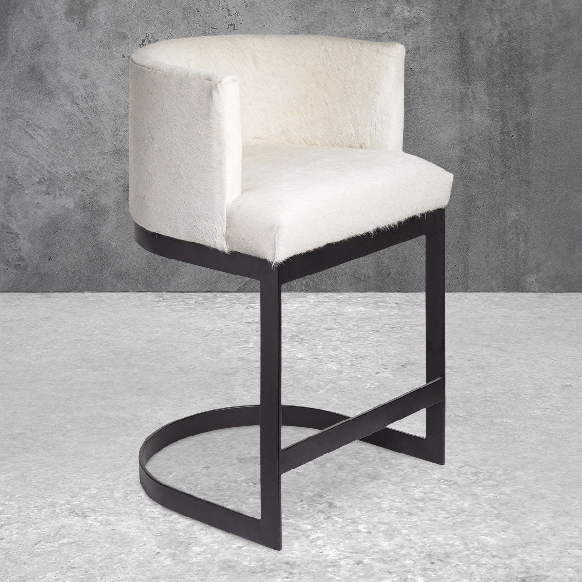 Ibiza Bar and Counter Stool in Cowhide