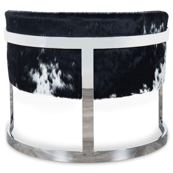 Ibiza Arm Chair in Spotted Cowhide