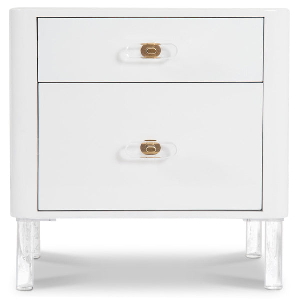 Ibiza 2 Drawer Side Table