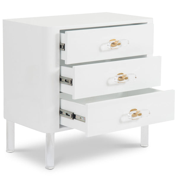 Ibiza 3 Drawer Side Table