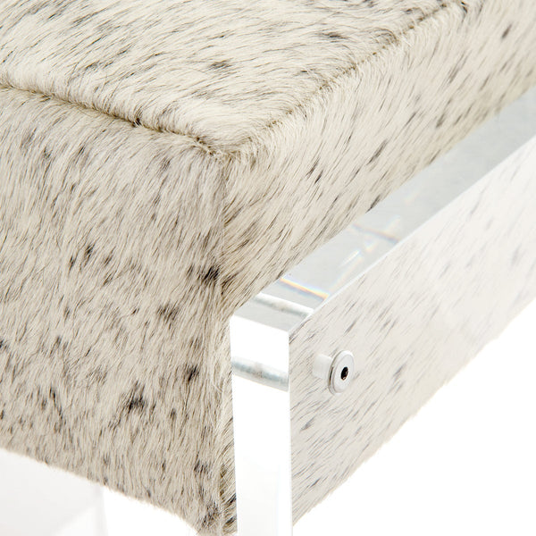 Iceland Bar Stool in Cowhide - ModShop1.com