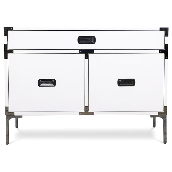 Jet Setter 1 Drawer 2 Door Side Table - ModShop1.com