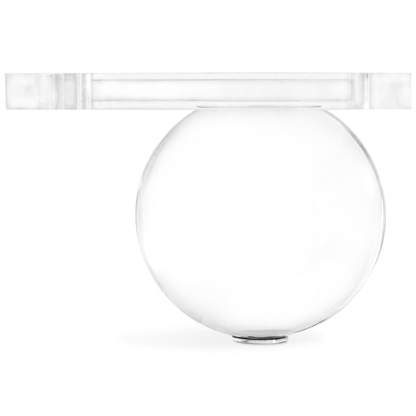 "3.5"" Lucite Ball Leg (Set of 4) - ModShop1.com"